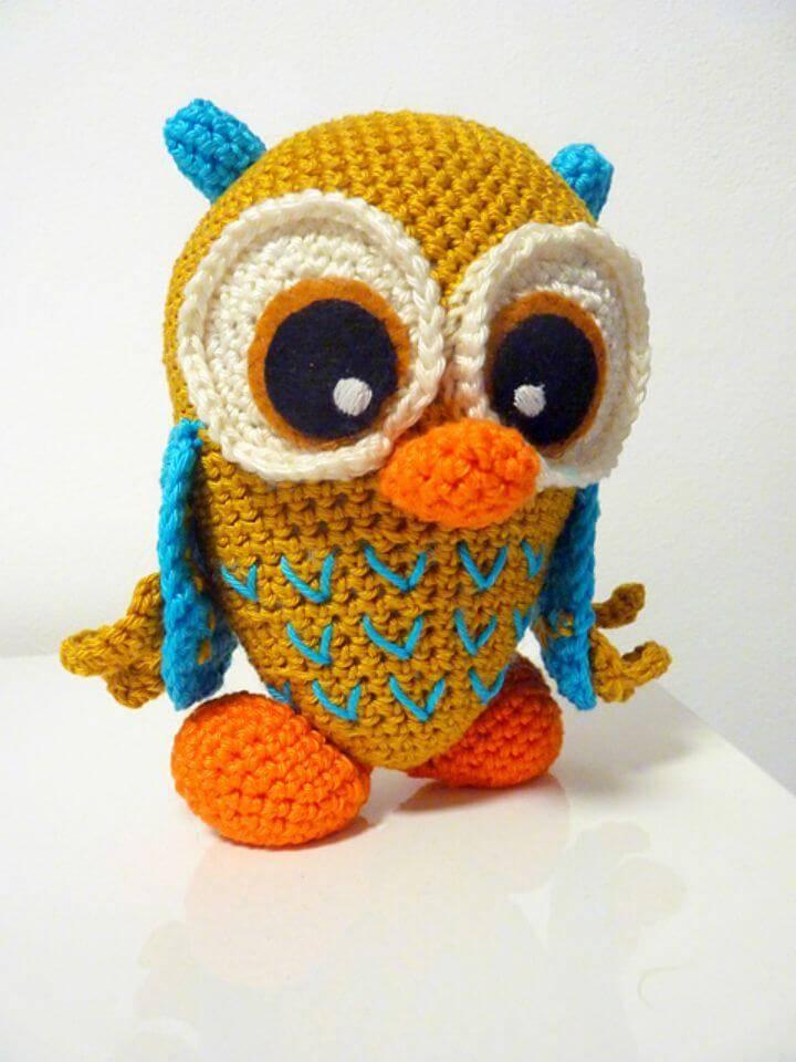 Crochet Dreamy Owl - Free Pattern