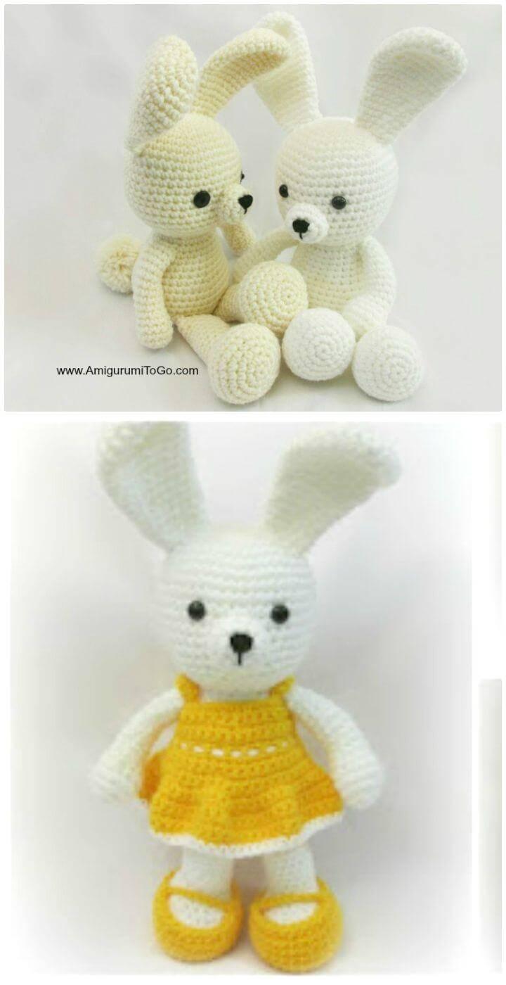 Crochet Dress Me Bunny - Free Pattern