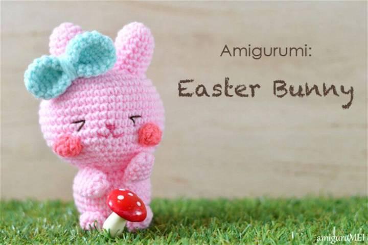 Crochet Easter Bunny Amigurumi - Free Pattern
