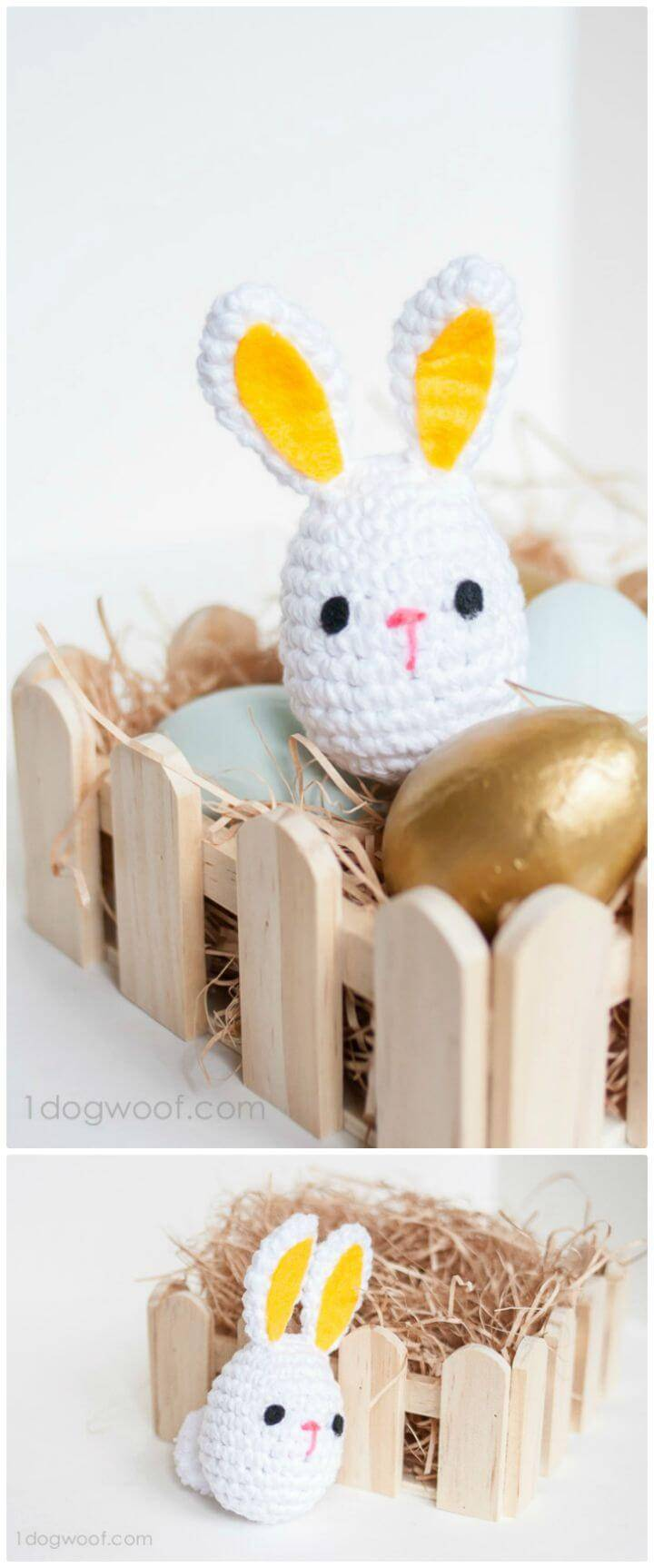 How To Crochet Easter Bunny - Free Pattern