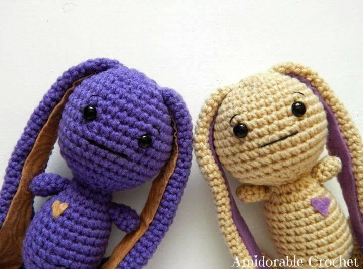 Crochet Easy Bunny - Free Amigurumi Pattern