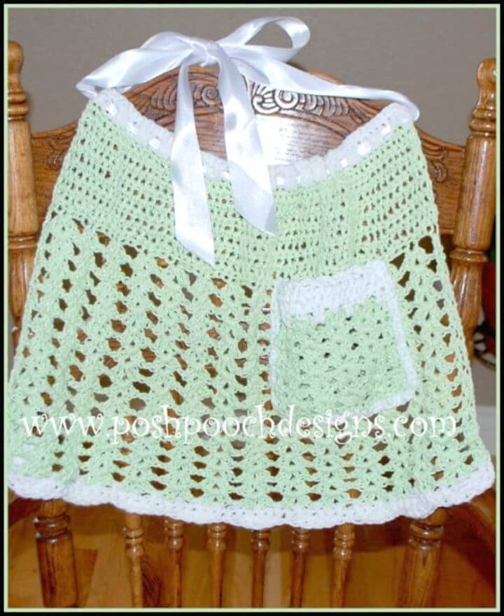 How To Crochet Easy Meatloaf - Free Apron Pattern