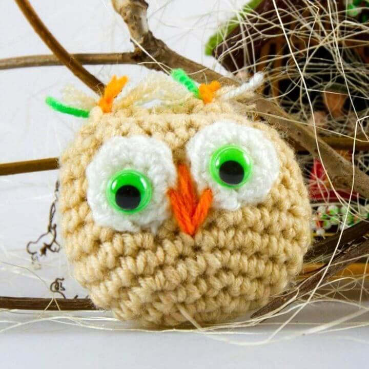 Free Crochet Easy Owl Amigurumi Pattern