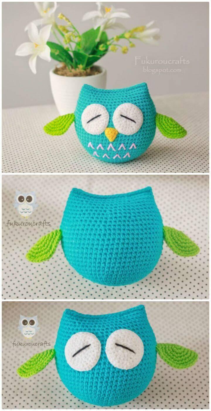 Crochet Easy Owl - Free Amigurumi Pattern