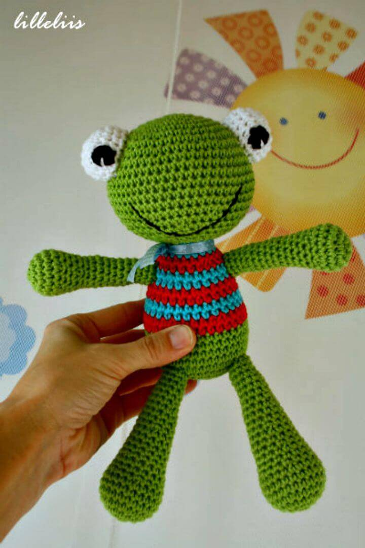 Crochet Felix The Frog Amigurumi - Free Pattern