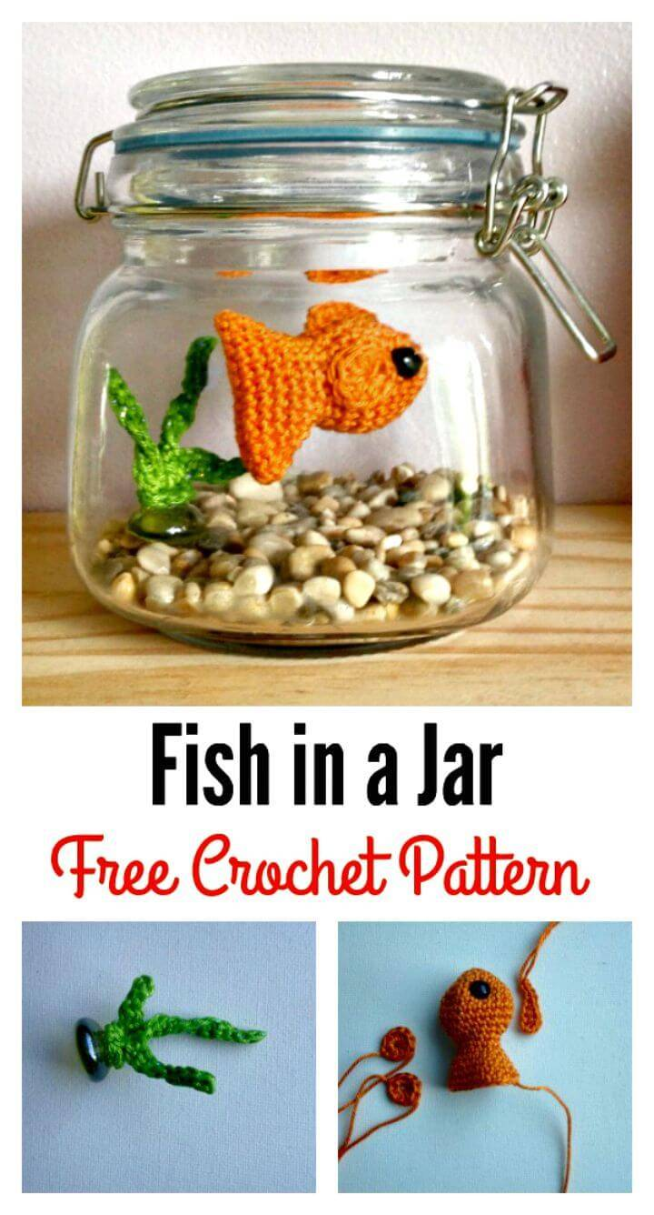 How To Crochet Fish Amigurumi Free Pattern In A Jar