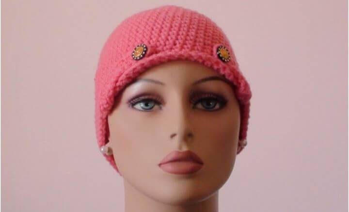 Free Crochet For Cancer Ladies Chemo Cap Pattern