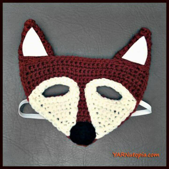 Crochet Fox Mask - Free Pattern
