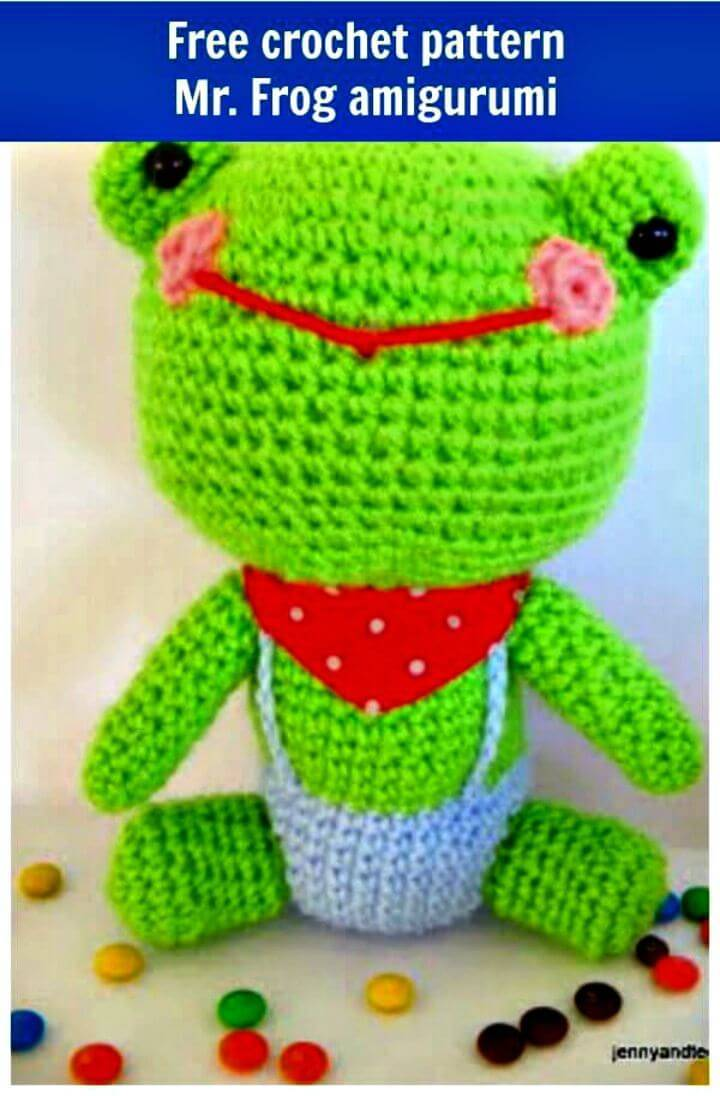 Free Crochet Frog - Amigurumi Pattern