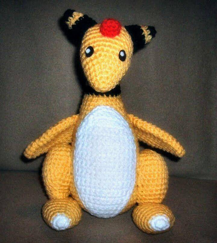 Crochet Ampharos Amigurumi - Free Pattern