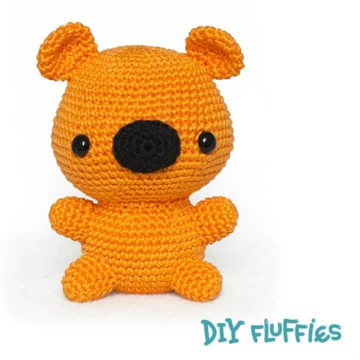How To Free Crochet Bear Amigurumi Pattern