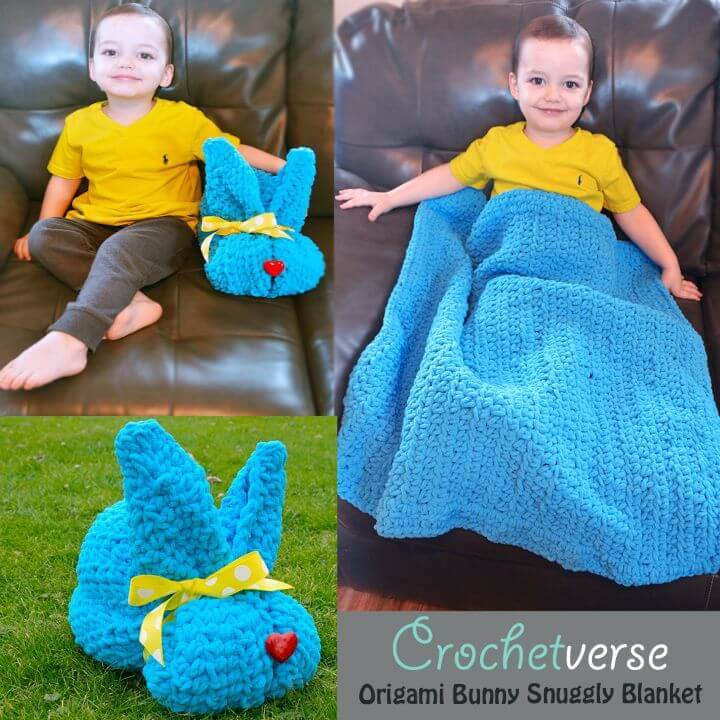 How To Crochet Free Bunny Snuggly - Free Pattern