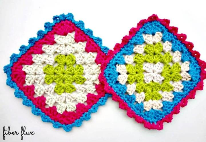 Easy Crochet Party Cake Dishcloths - Free Pattern