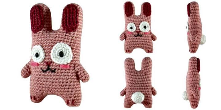 Free Crochet Freezer Bunny Amigurumi Pattern