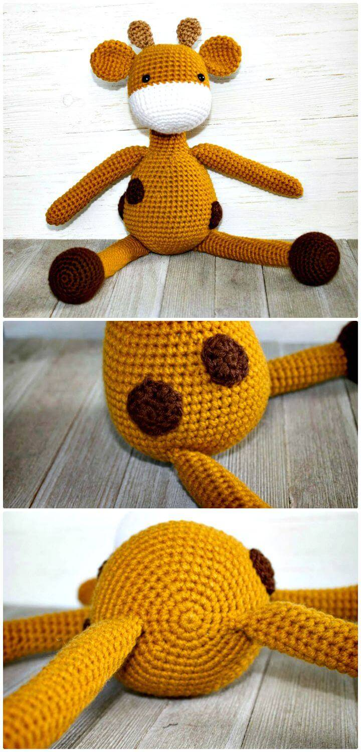 How To Crochet Friendly Giraffe Amigurumi Pattern