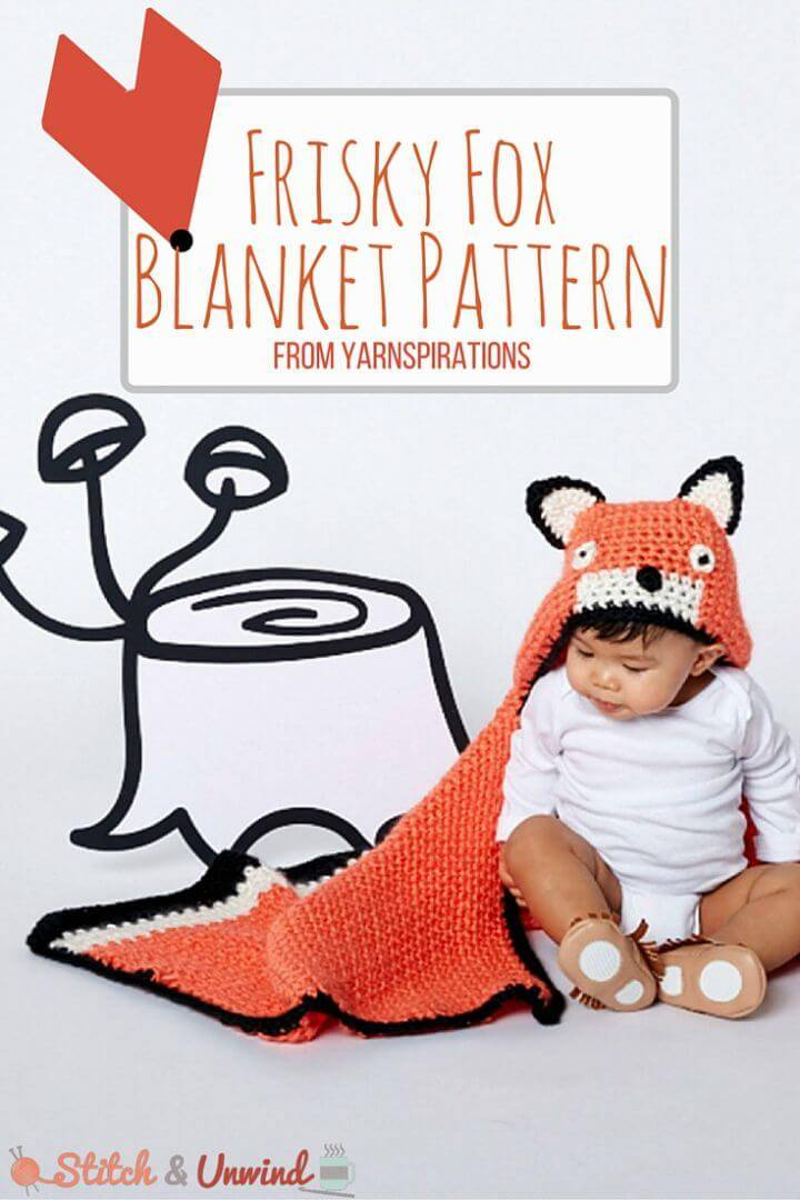 Crochet Frugal Feisty Fox - Free Pattern