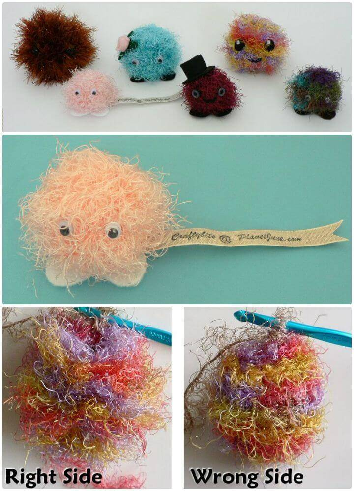 Crochet Fuzzballs - Free Amigurumi Pattern
