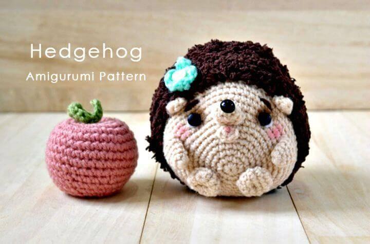 Free Crochet Hedgehog Amigurumi Pattern