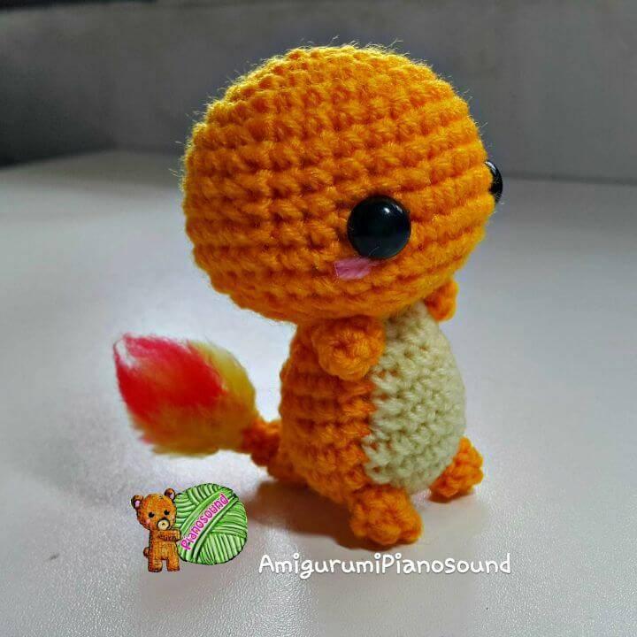 Free Crochet Hitokage Pokemon Pattern
