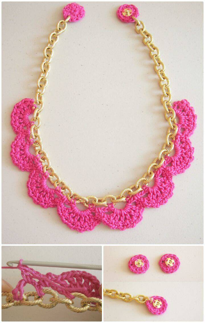 Easy Free Crochet In A Chain Pattern