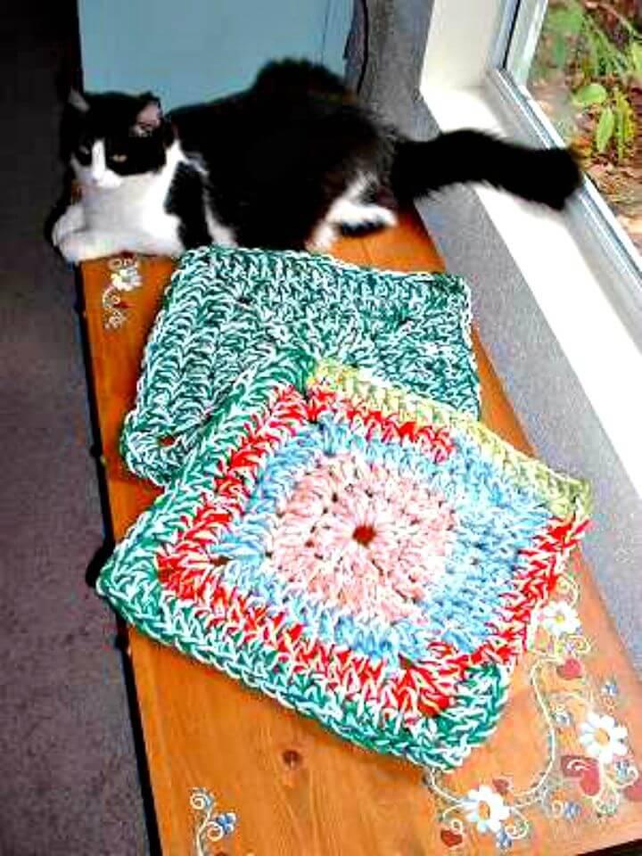 Free Crochet Jennifer's 20 Minute Rug Pattern