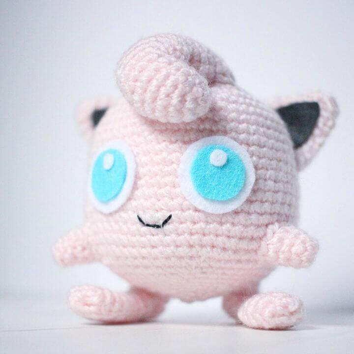 Crochet Jigglypuff Amigurumi Pattern