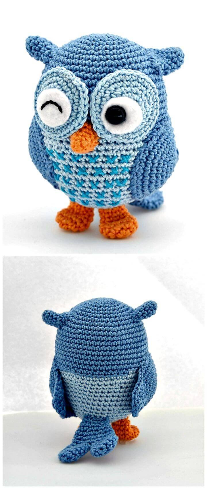 Free Crochet Jip The Owl Amigurumi Pattern