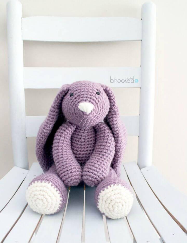 Easy Crochet Layla Bunny Amigurumi - Free Pattern