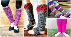 Crochet Leg Warmers - 8 Free Crochet Leg Warmer Patterns - Crochet