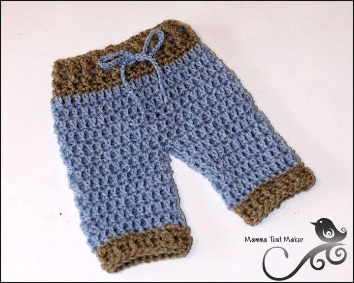Easy Crochet Lil Pants - Free Pattern