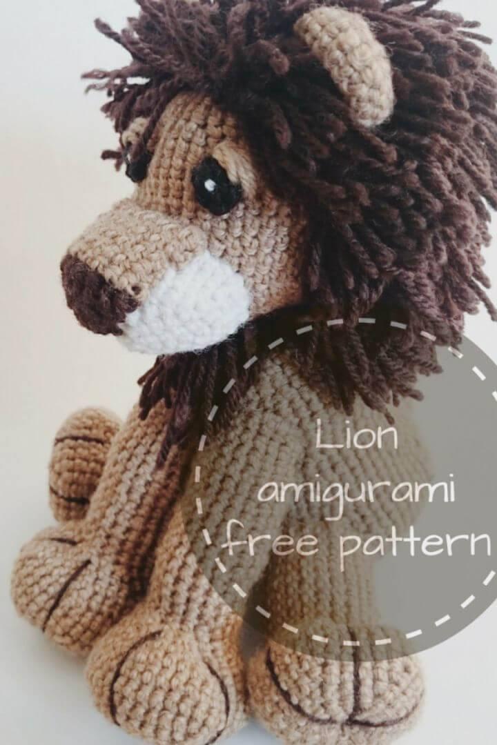 Free Crochet Lion Amigurumi Pattern