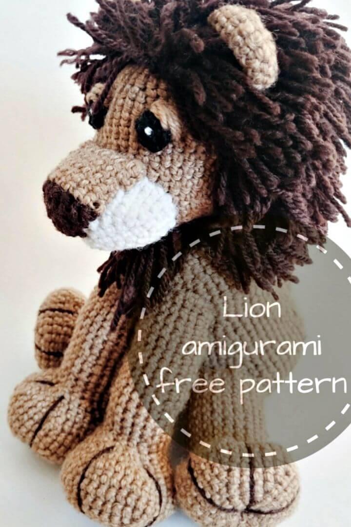 Crochet Lion Amigurumi - Free Pattern