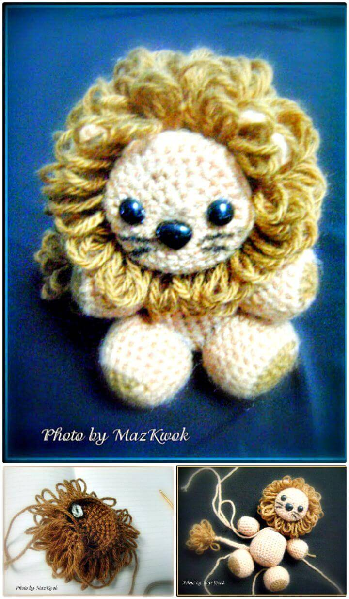 Free Crochet Little Lion Amigurumi Pattern