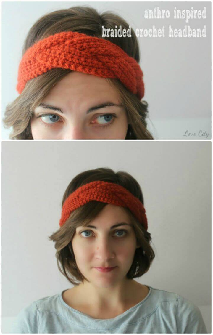 How To Free Crochet Love Headband Pattern