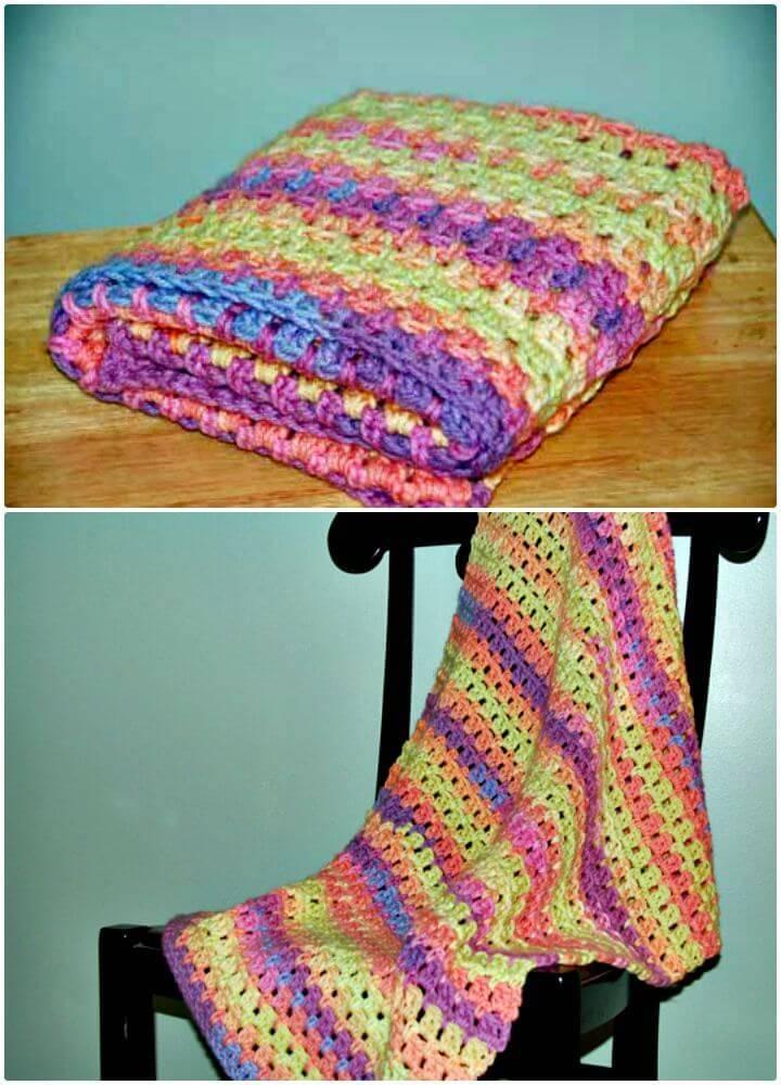 How To Easy Free Crochet Magic Baby Blanket + Tutorial