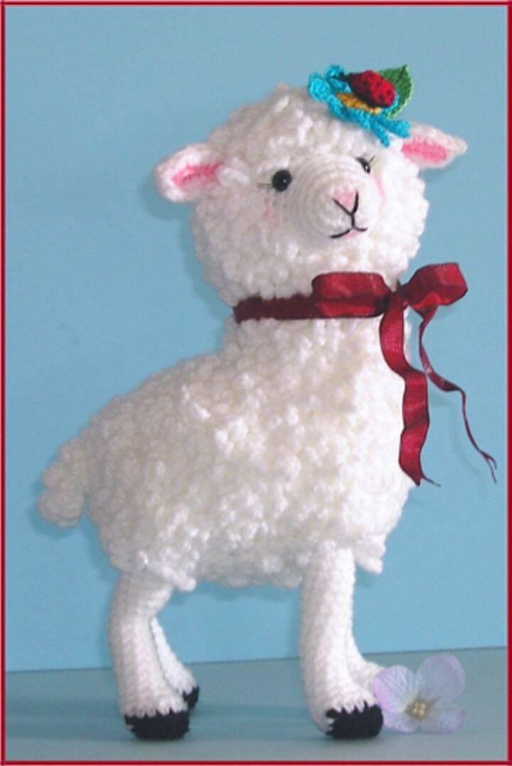 Free Crochet Matilda Le Mouton Amigurumi Pattern