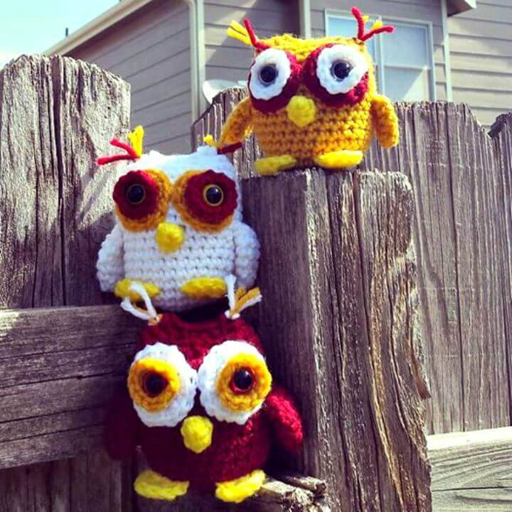 Crochet Mini Owlet Free Pattern