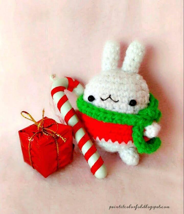 Free Crochet Molang Bunny Pattern
