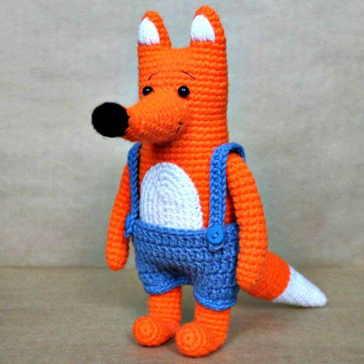 How To Crochet Mr Fox - Free Pattern