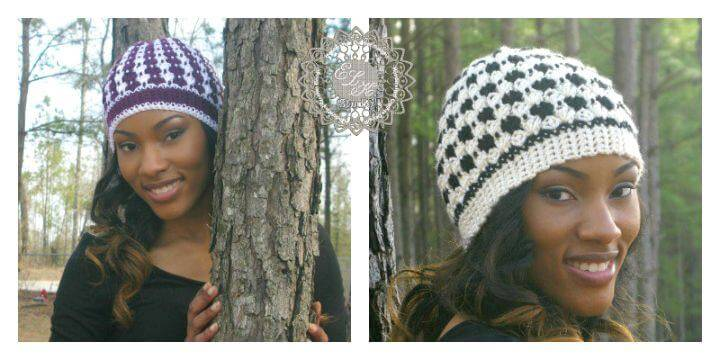 How To Free Crochet Beanie Pattern