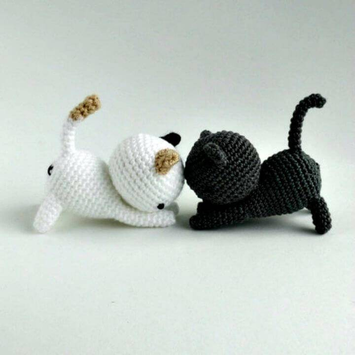 How To Crochet Neko Atsume Amigurumi - Free Pattern