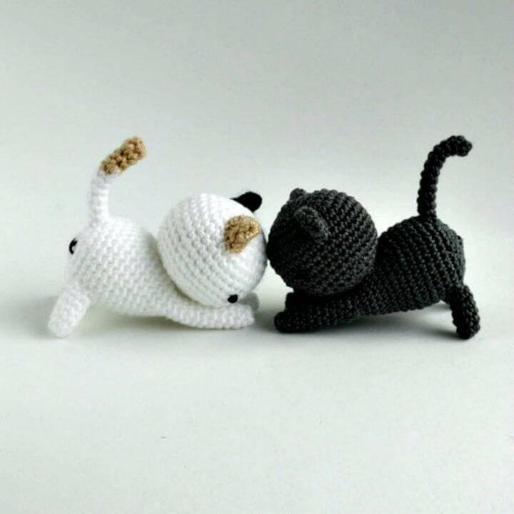 How To Crochet Neko Atsume Amigurumi - Free Pattern