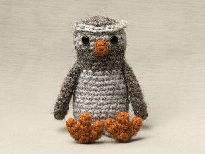 Crochet Odi Little Owl - Free Pattern