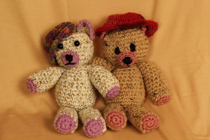 Free Crochet Ogeechee Teddy Bear Amigurumi Pattern