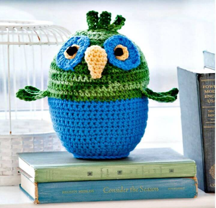 Free Crochet Ollie the Owl Pattern