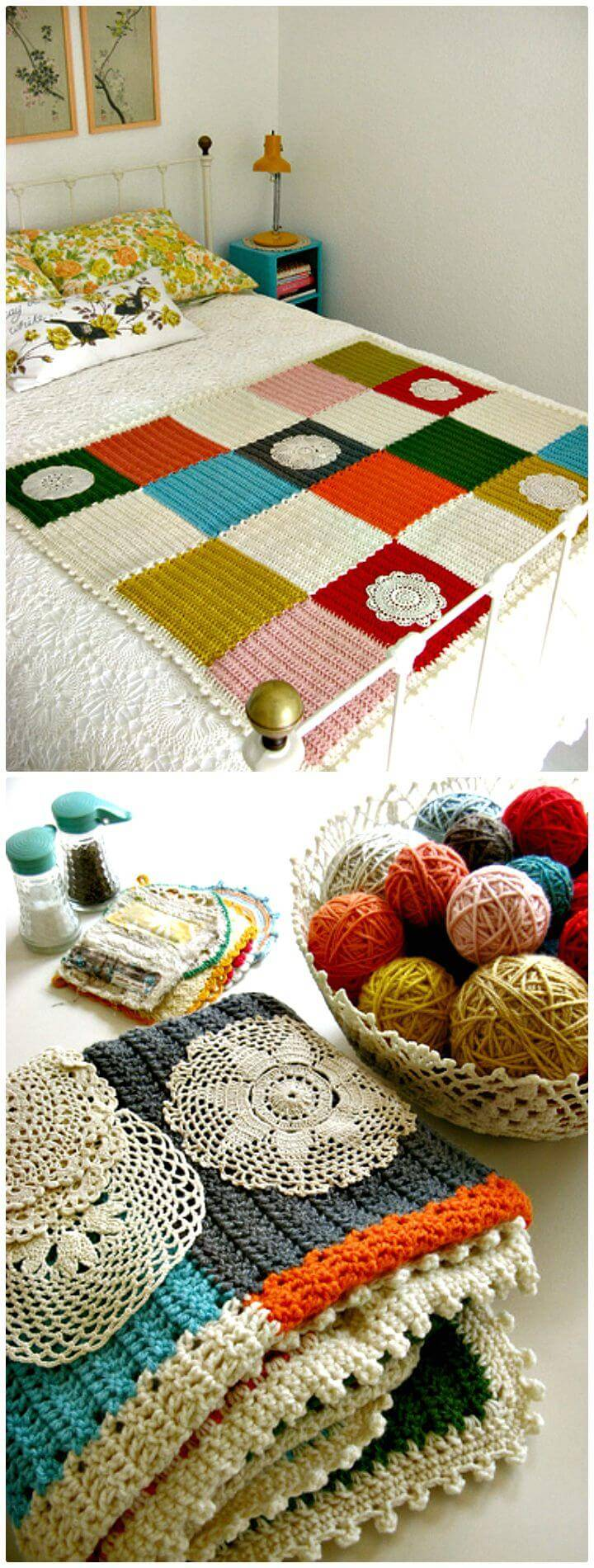 Free Crochet Ordinarily Extraordinary Blanket Pattern