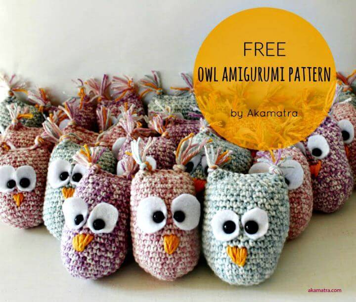How To Free Crochet Owl Amigurumi Free Pattern