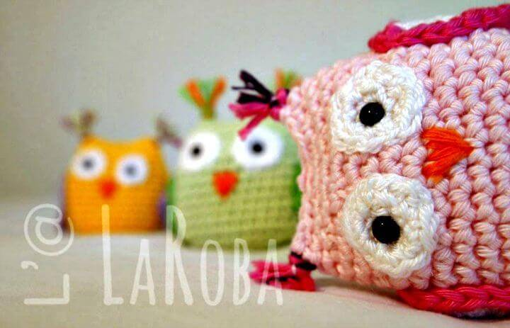 Crochet Owl Amigurumi - Free Pattern