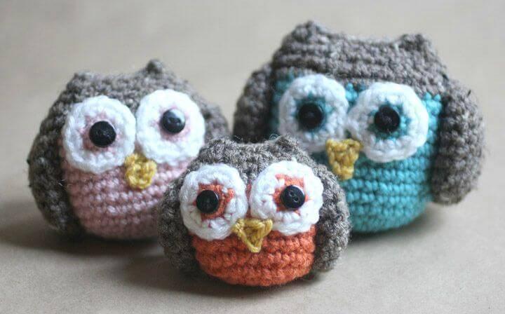 Crochet Owl Family Amigurumi Pattern