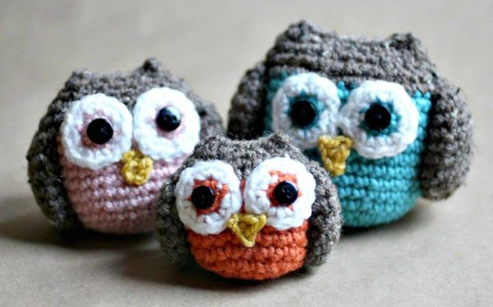How To Crochet Owl Family - Free Amigurumi Pattern
